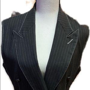 🖤Junior Gaultier Black & white pinstripe Dress🖤